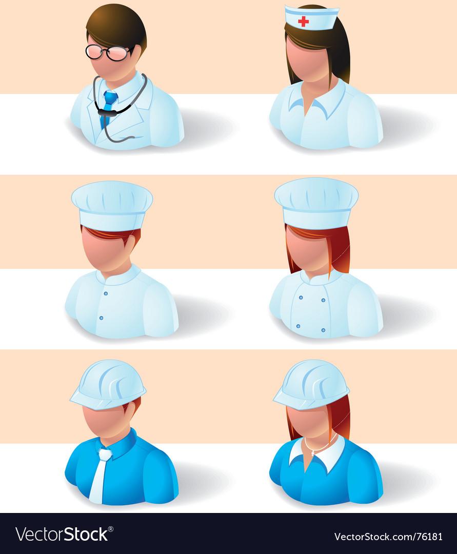 Employment icon vector image