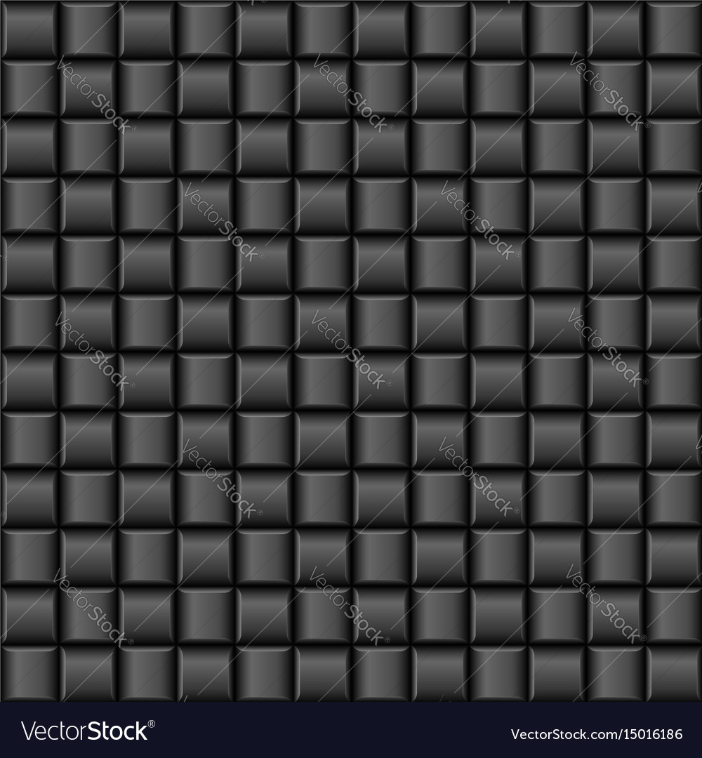 Abstract black cell textures for creative design vector image