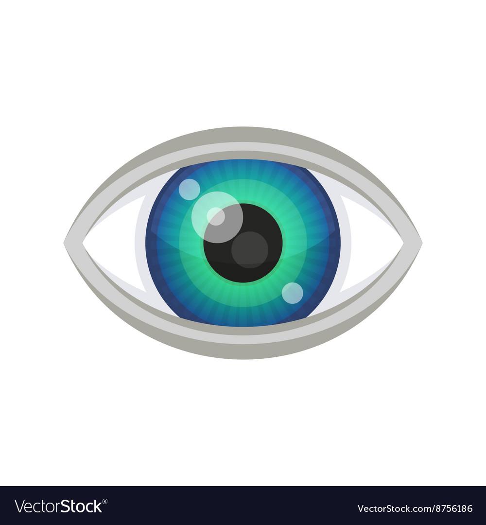 Blue Eye Icon vector image