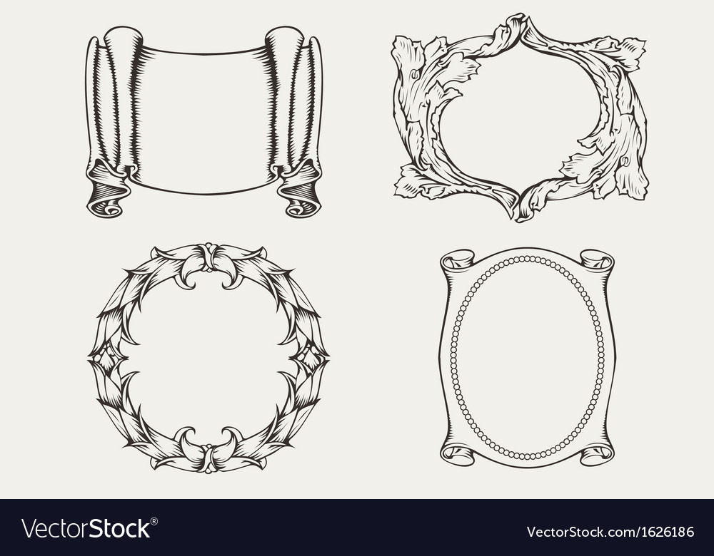 Four Ancient Frames
