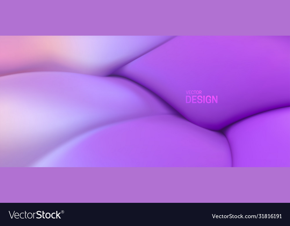 Soft purple wave abstract colorful background