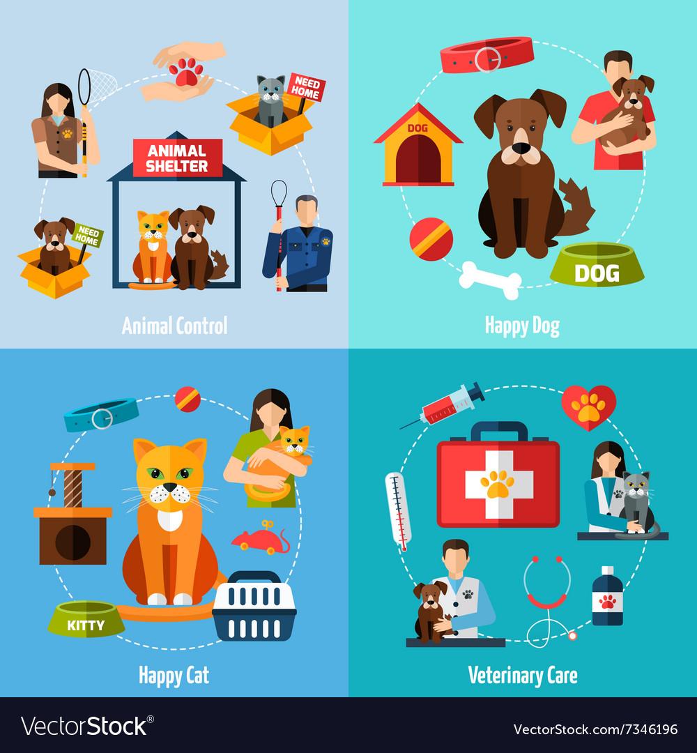 Animal shelter set