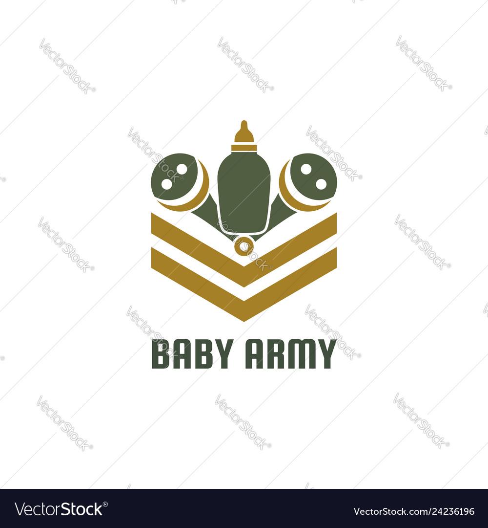 Baby army logo