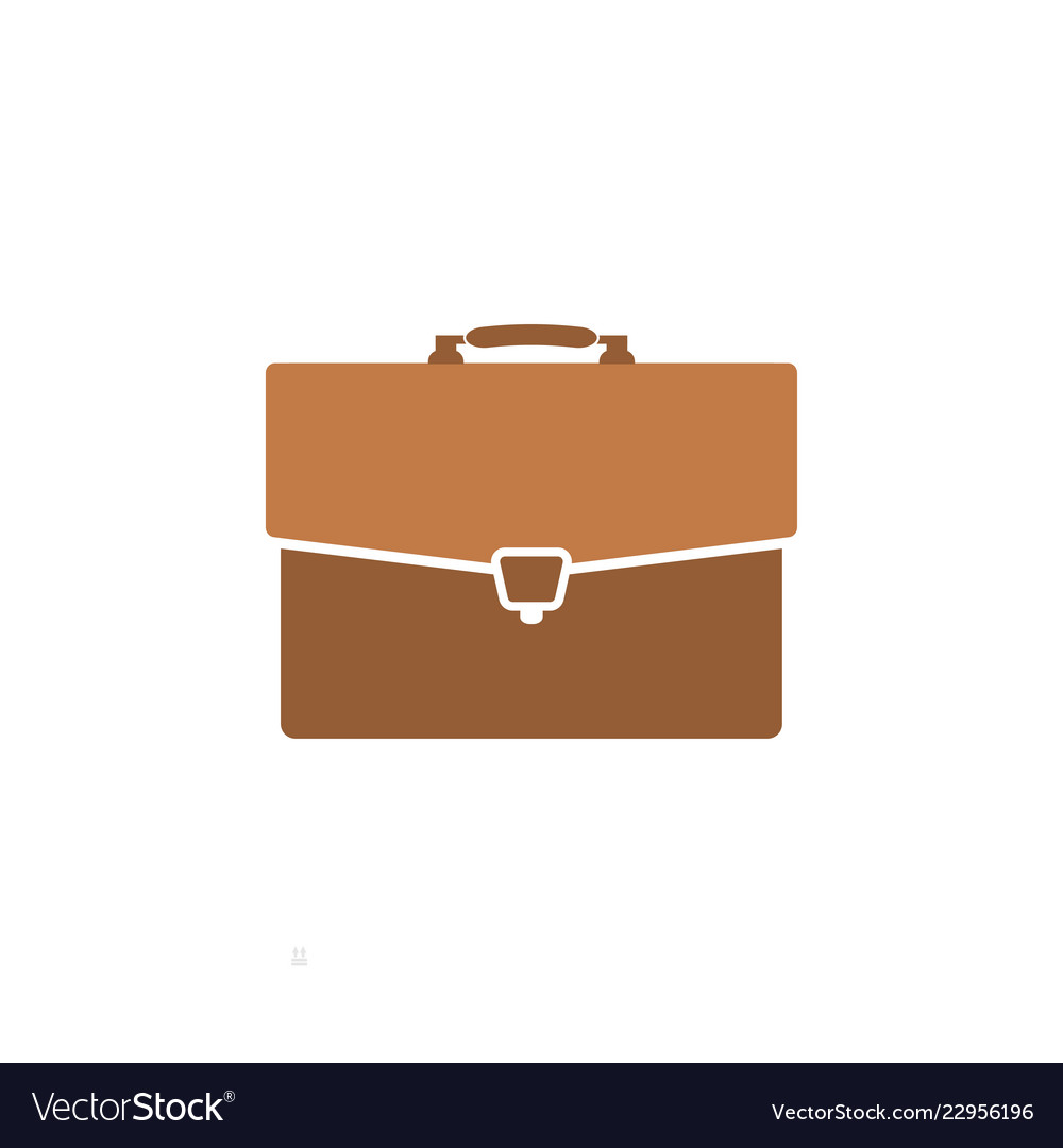 Briefcase business graphic design template