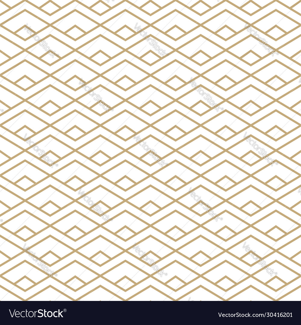 Abstract gold and white seamless pattern