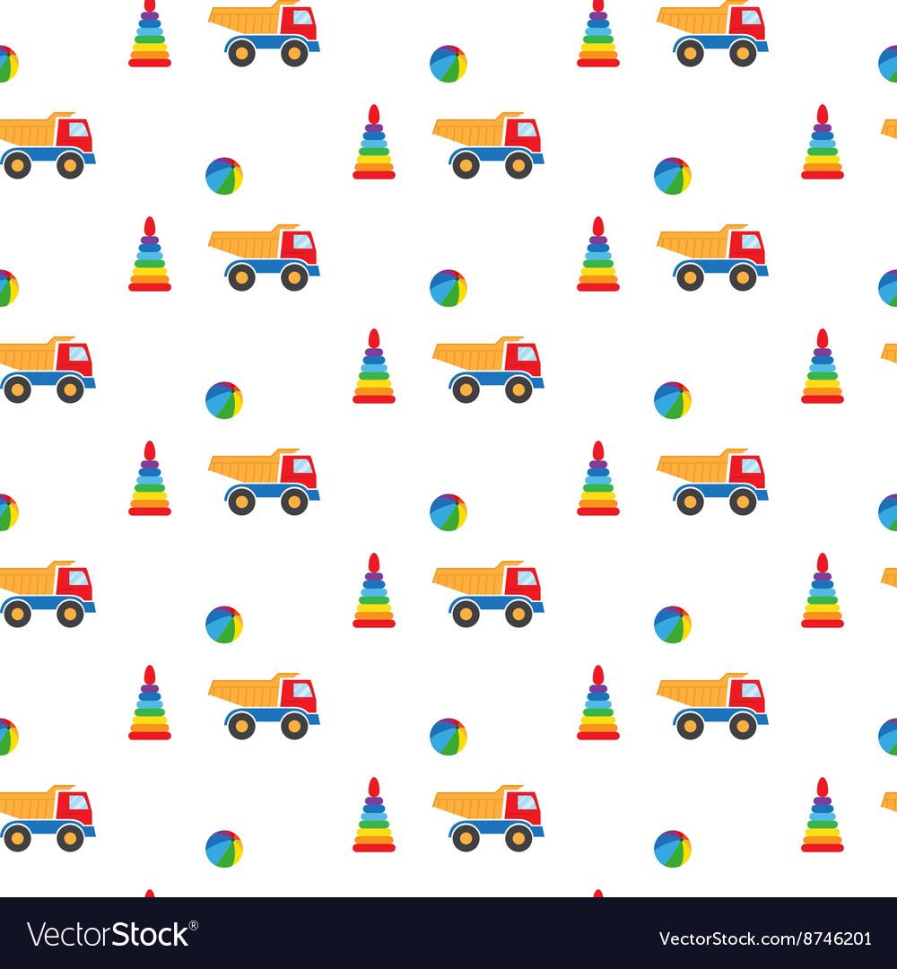 Kids toys pattern