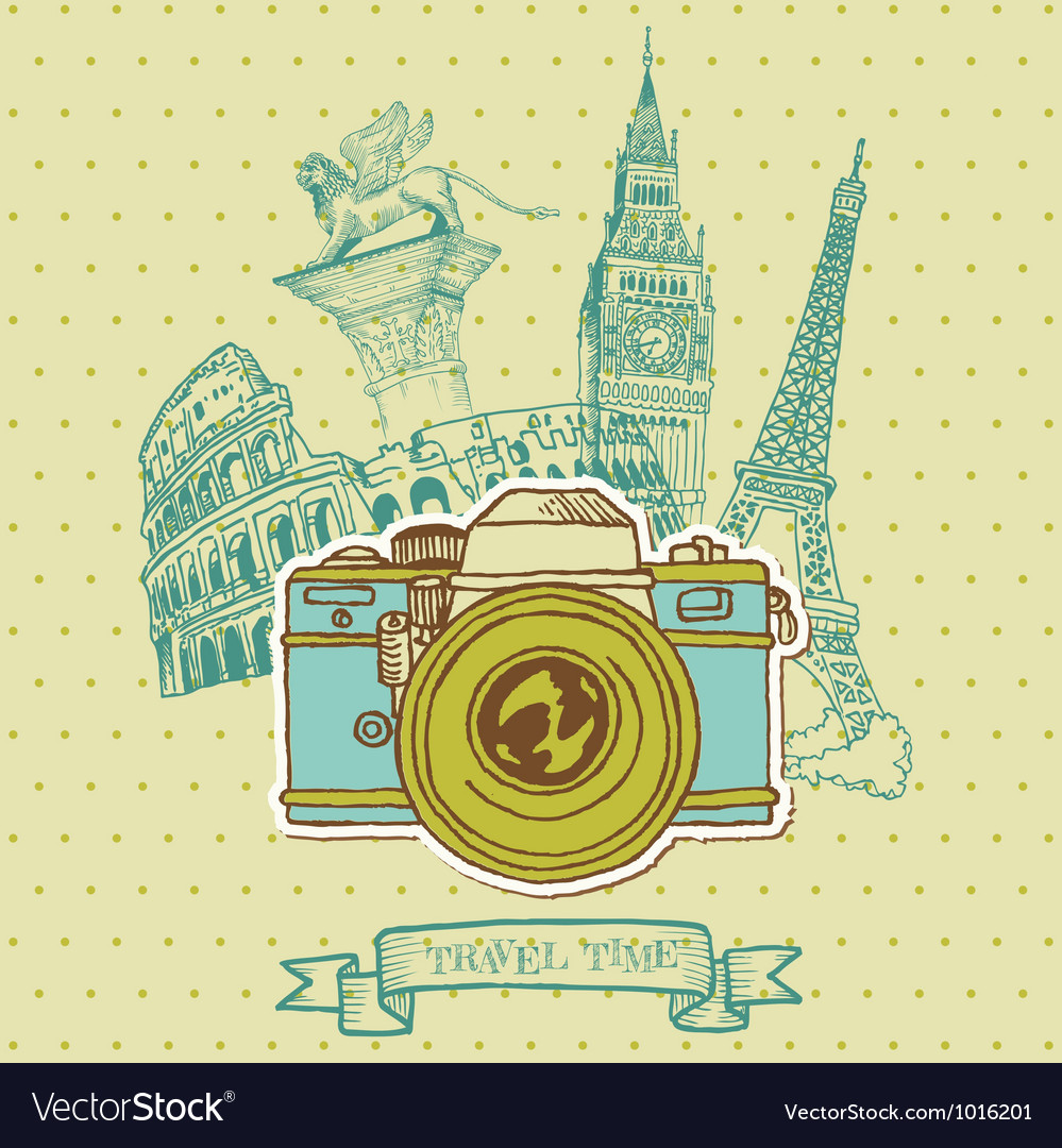 Lovely Card - Vintage Camera