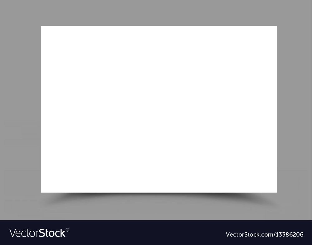 A4 paper form horizontal