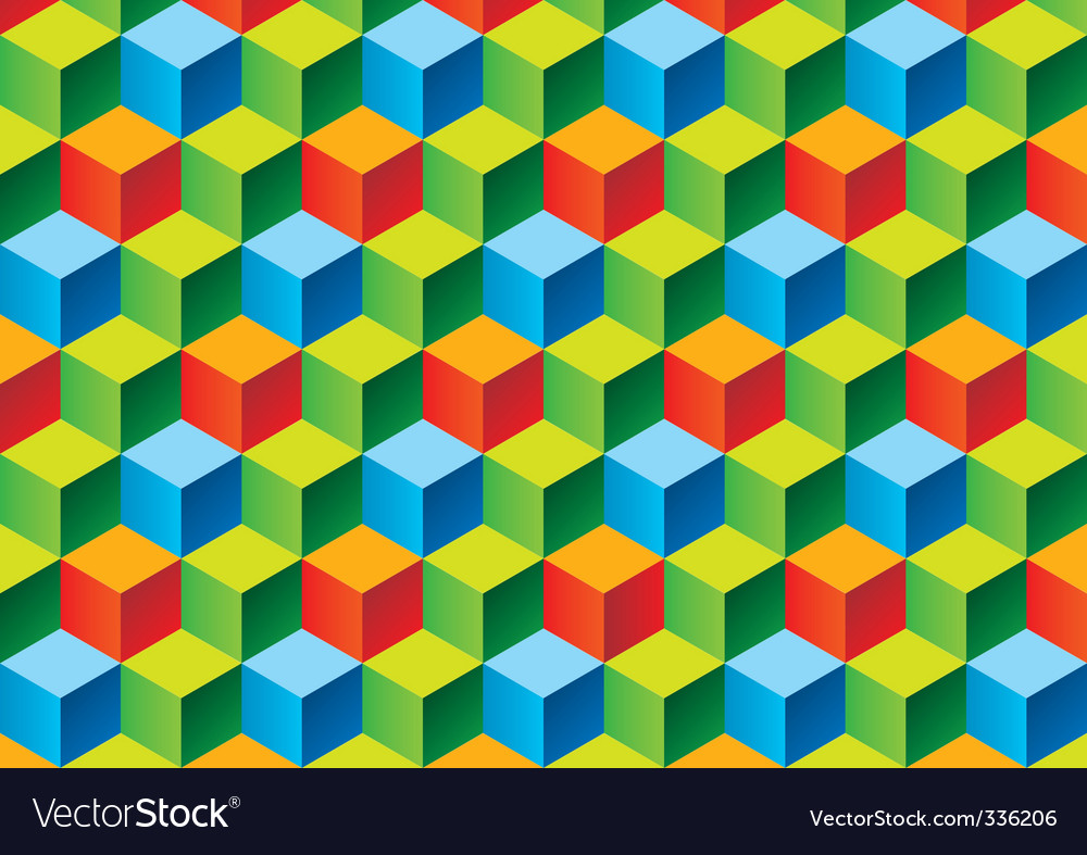 Child's blocks vector image