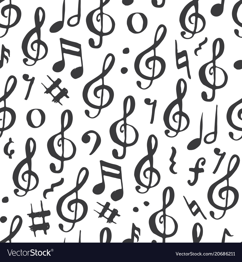 Music Note Pattern New Decorating Ideas