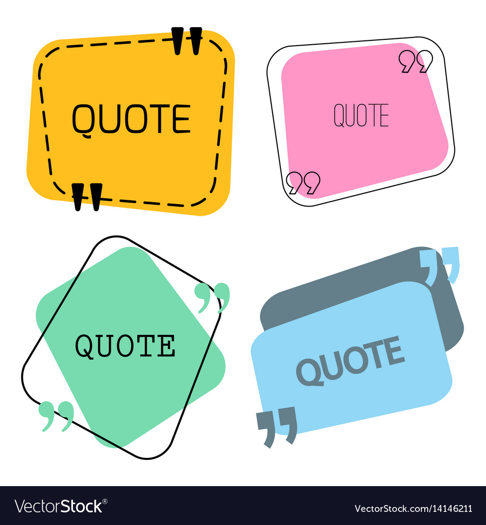 Quotes frame and sign set