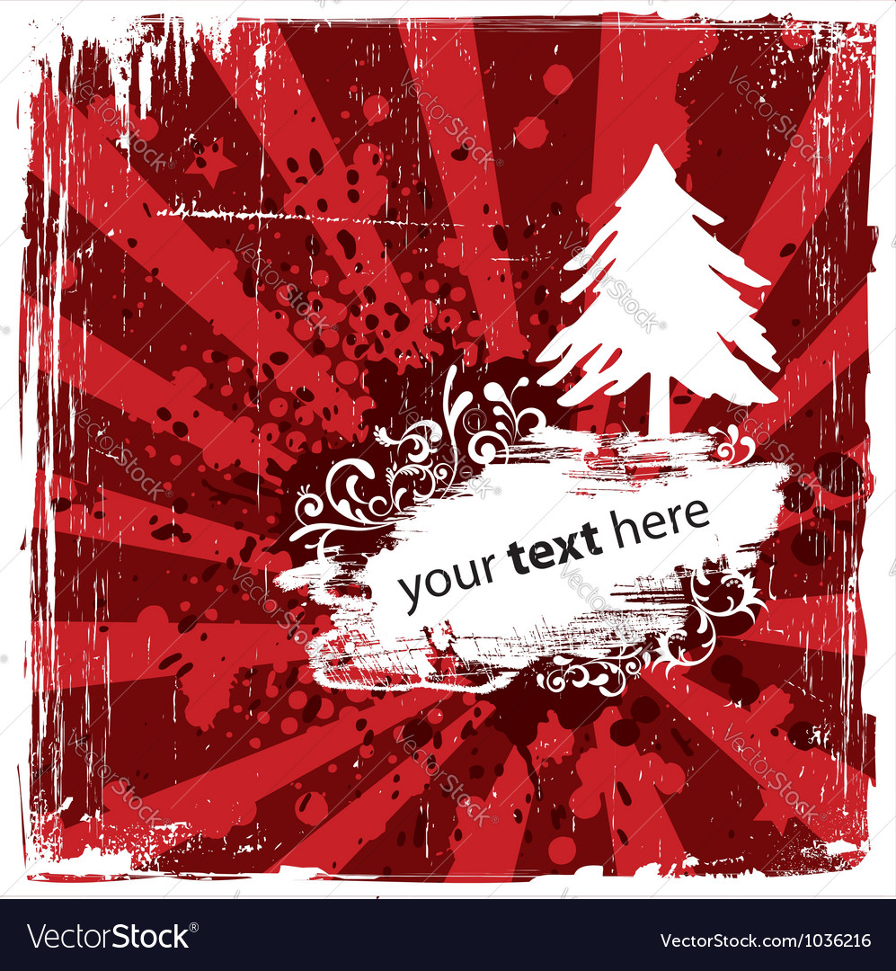 Grungy Christmas Design