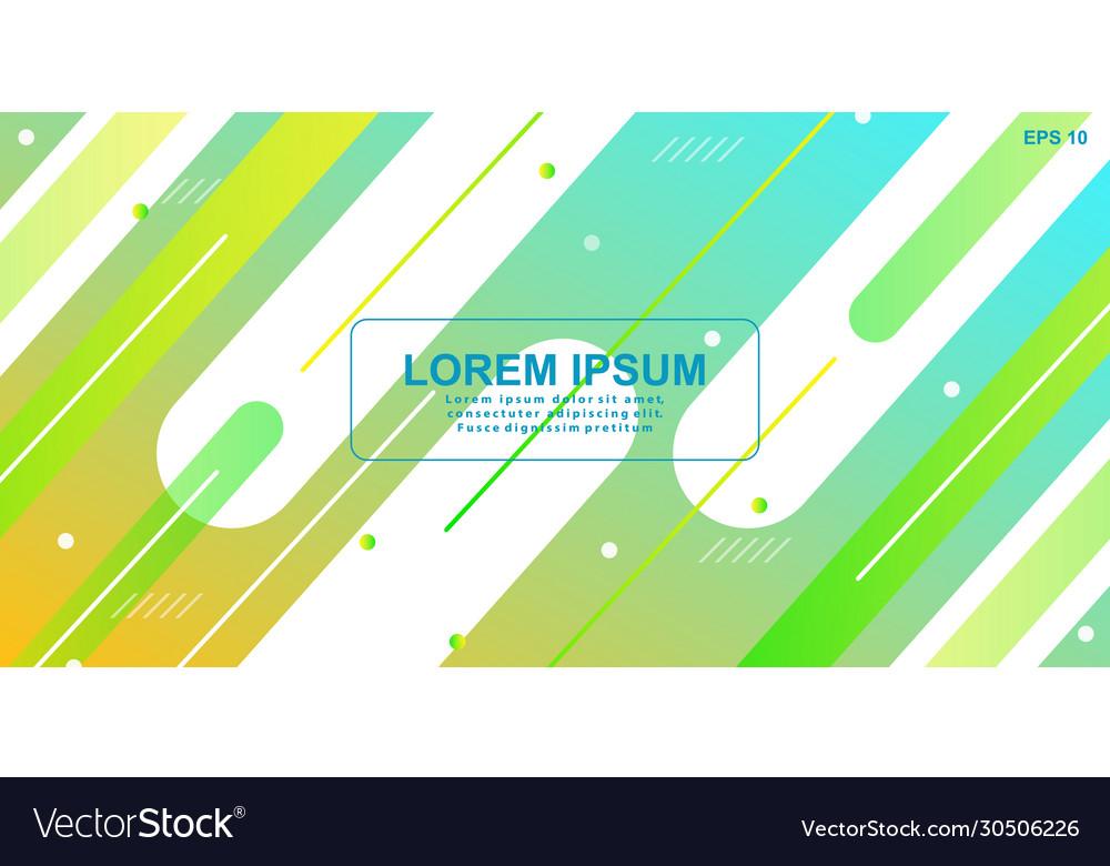 Gradient geometric shape background