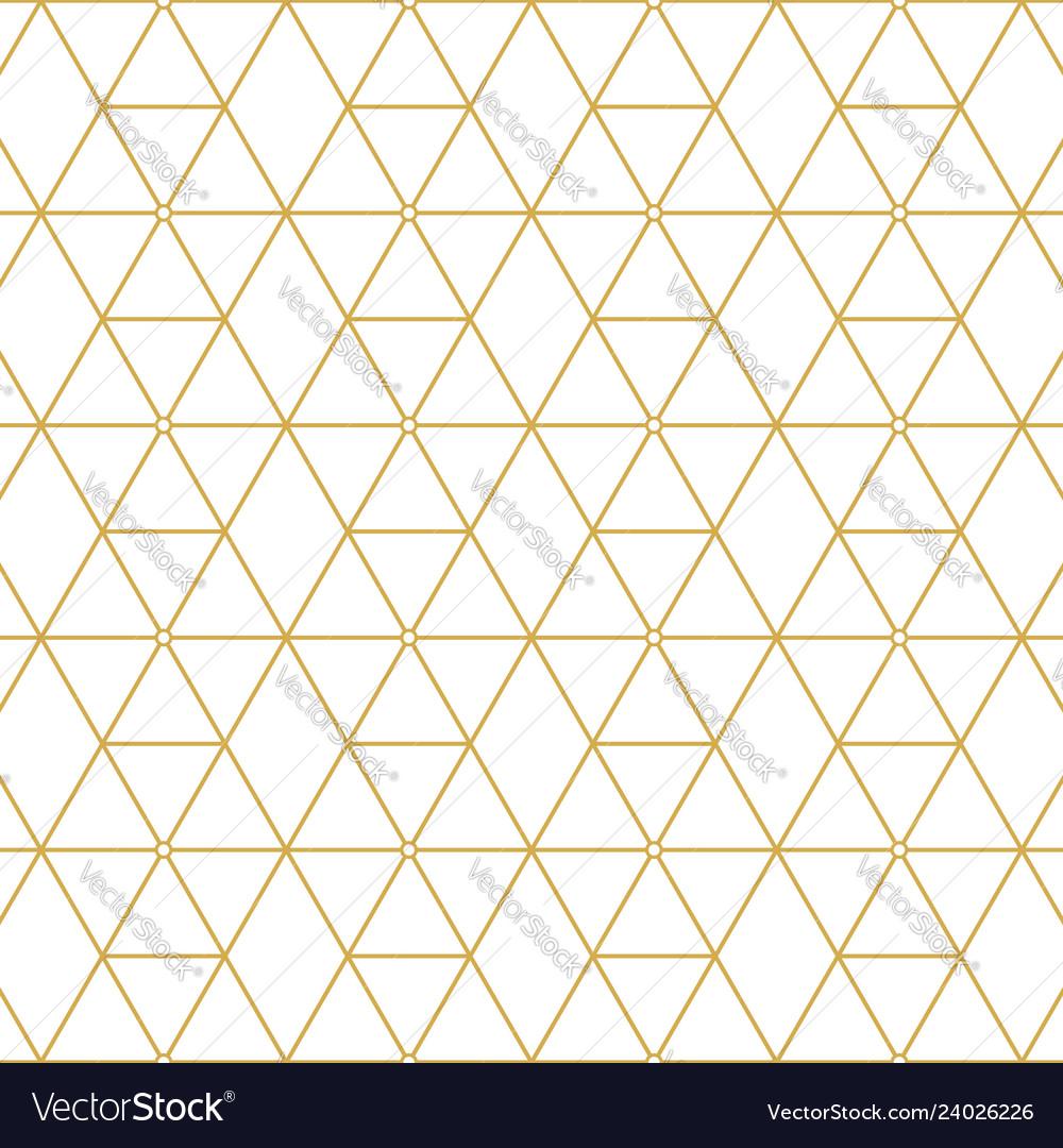 Retro pattern gold squares