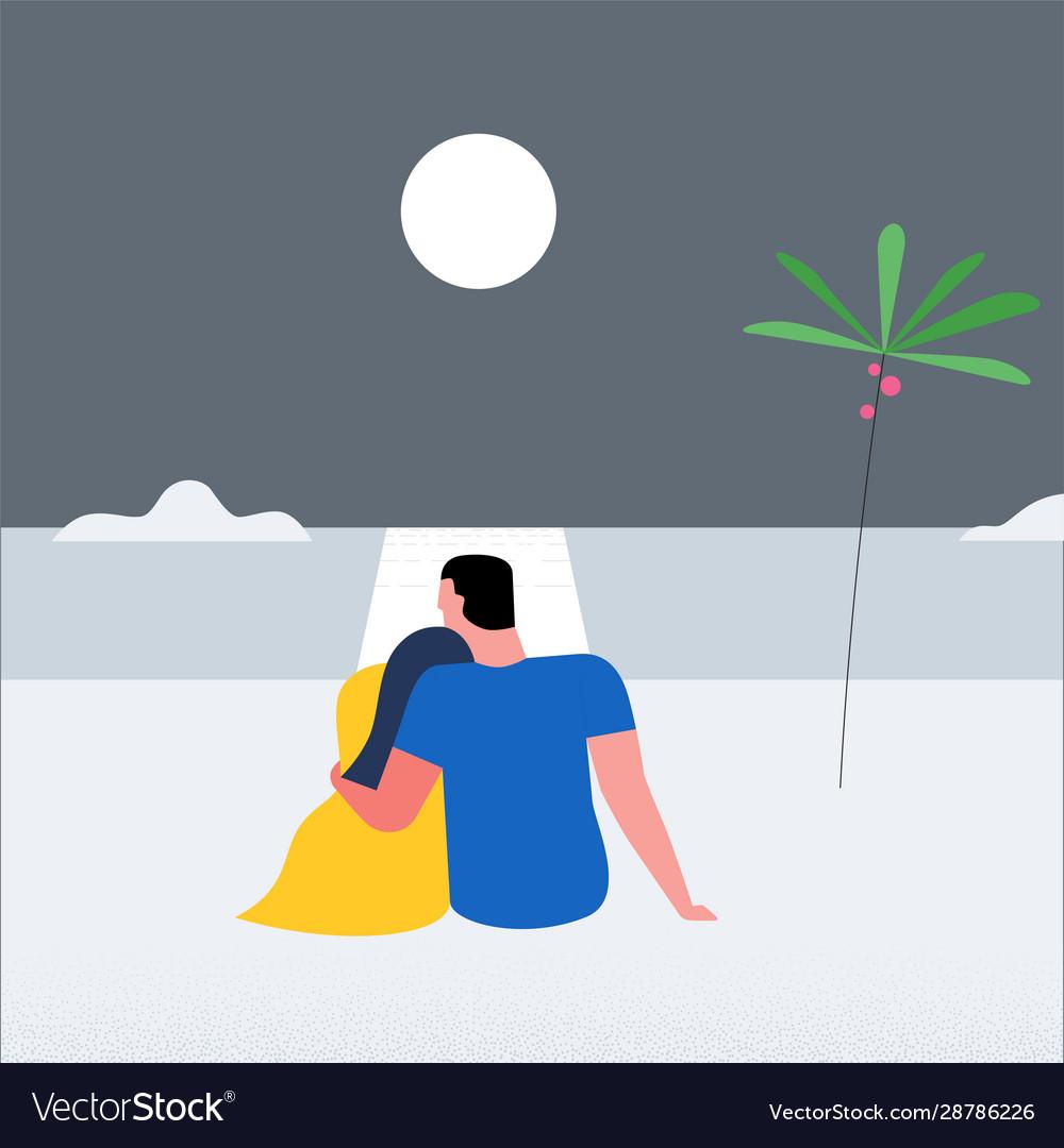 Romantic couple concept 04