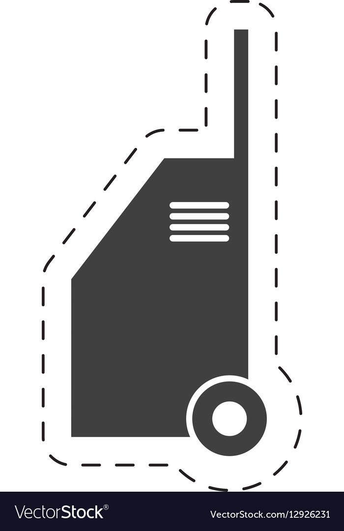 Hand car cleaning equipment pictogram vector image