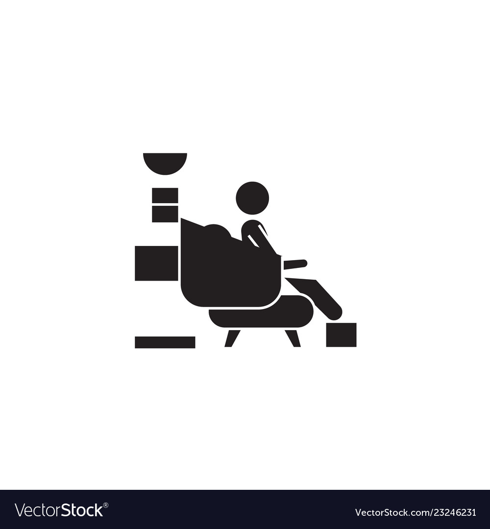 Medical treatment black concept icon