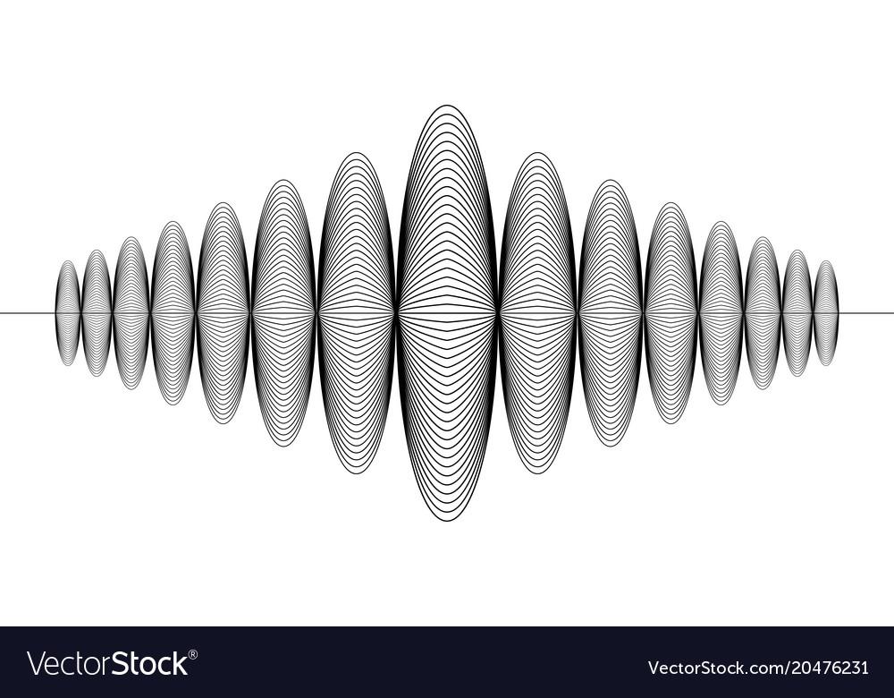 Sign audio digital record music radio sound wave