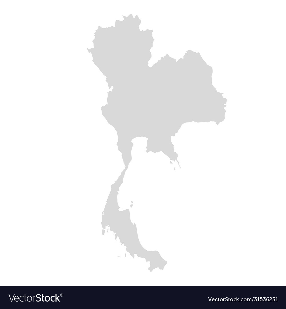 Thai map design thai east asia background
