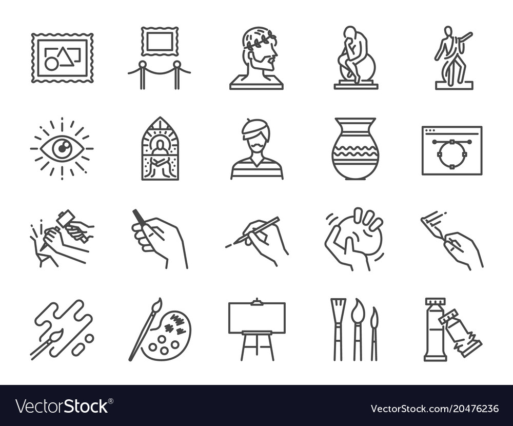 Art icon set
