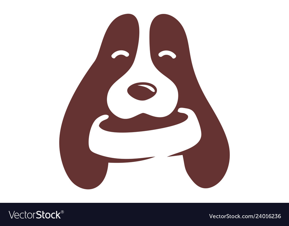 Dog logo icon design