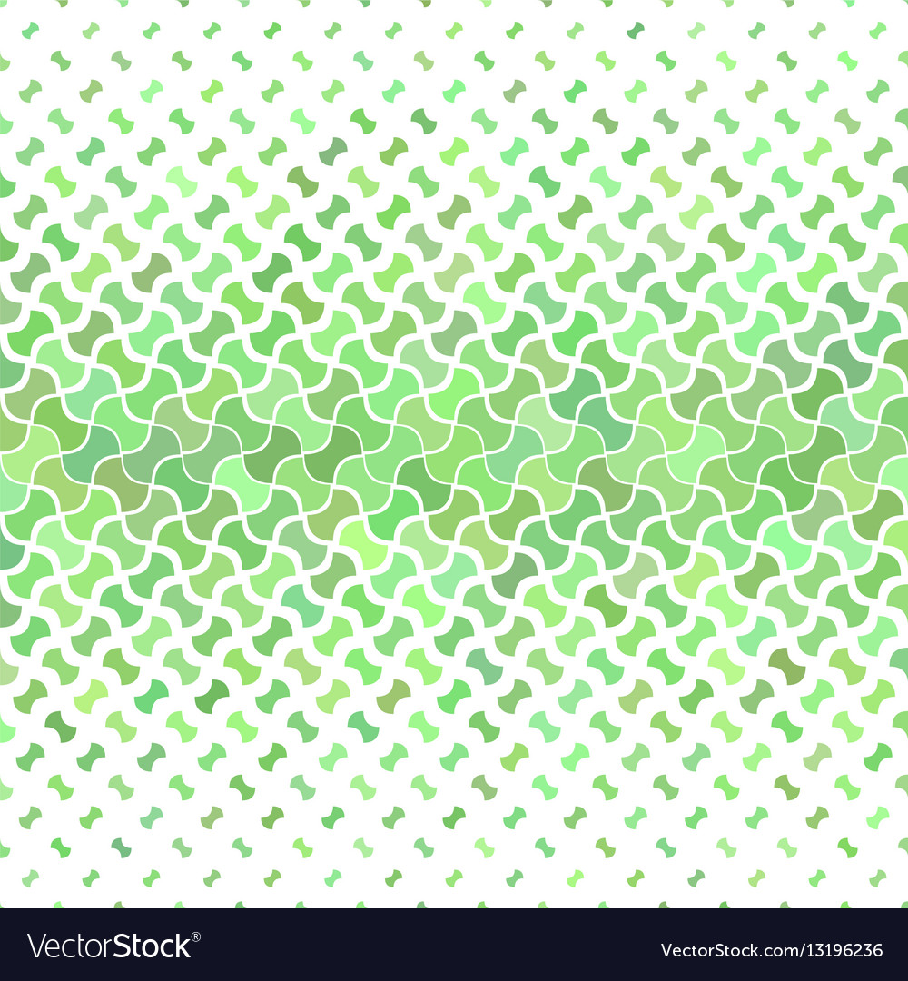 Green abstract geometric pattern background vector image