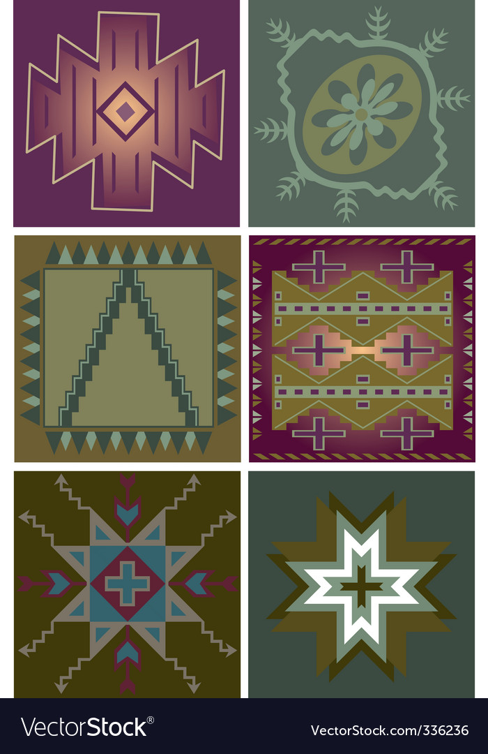 Primitive tribal patterns