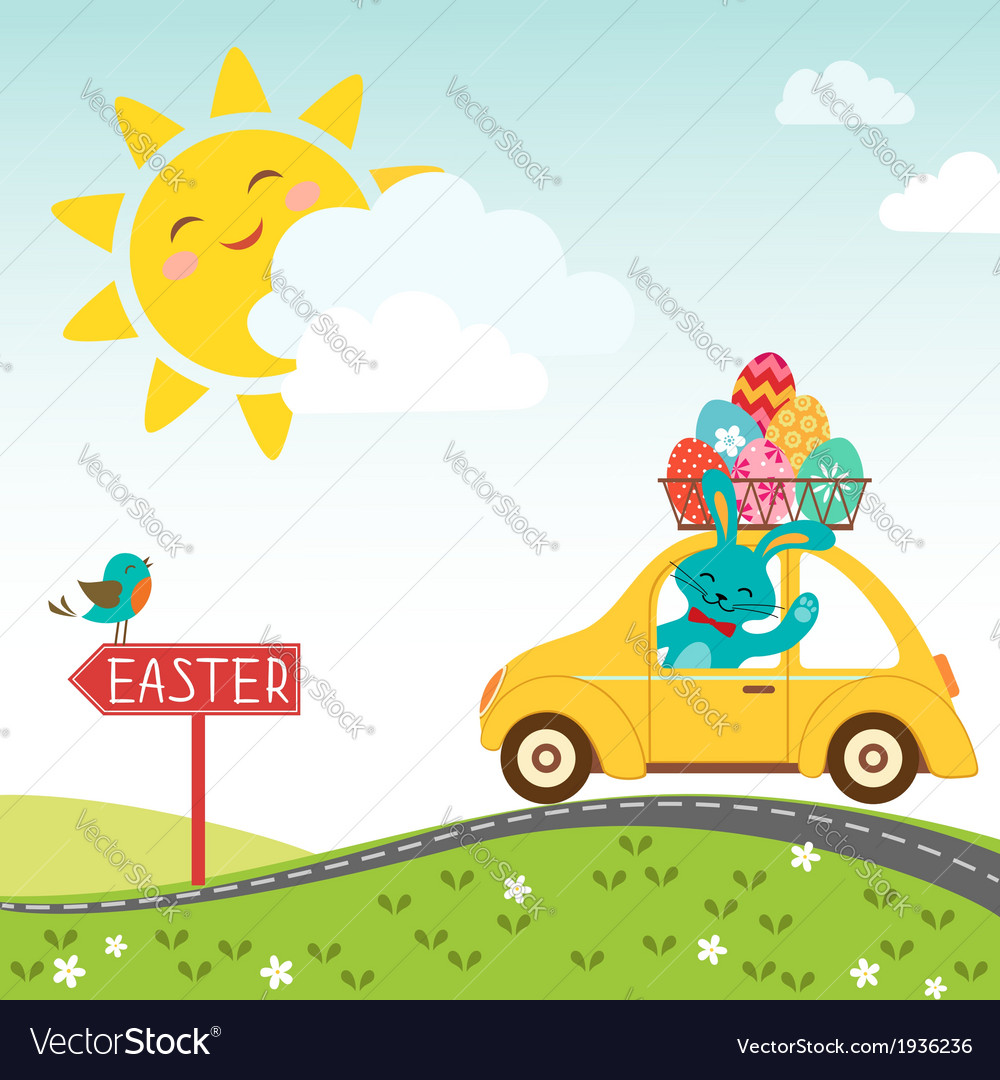 Road to happy Easter