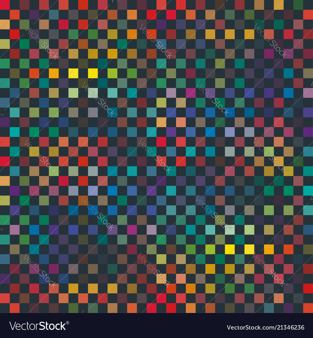Seamless abstract pixel square pattern texture
