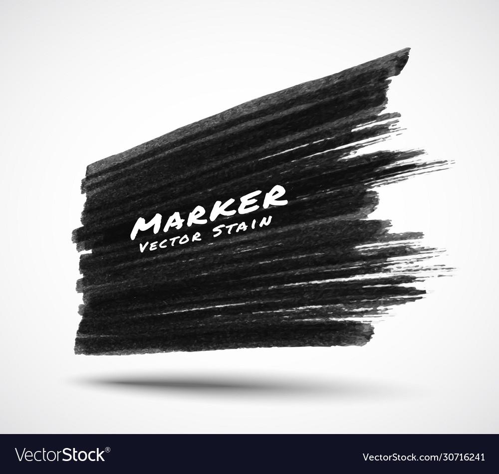 Black marker stroke background in perspective
