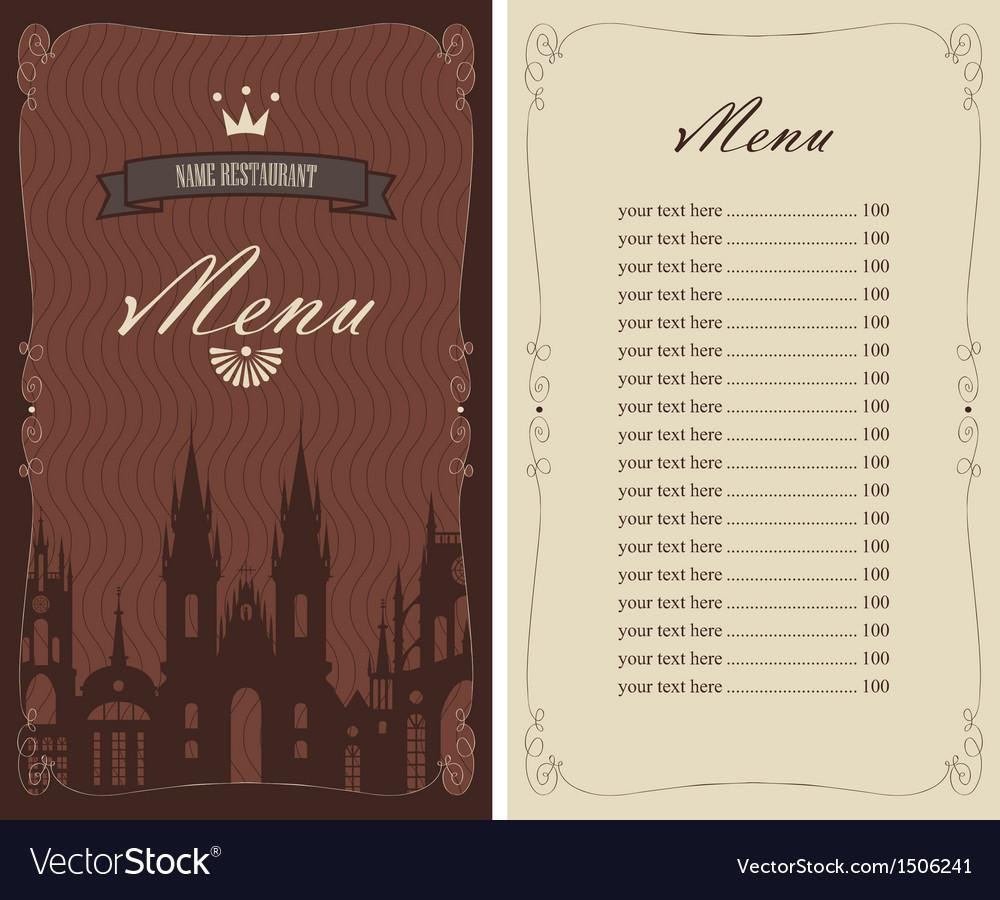 City menu