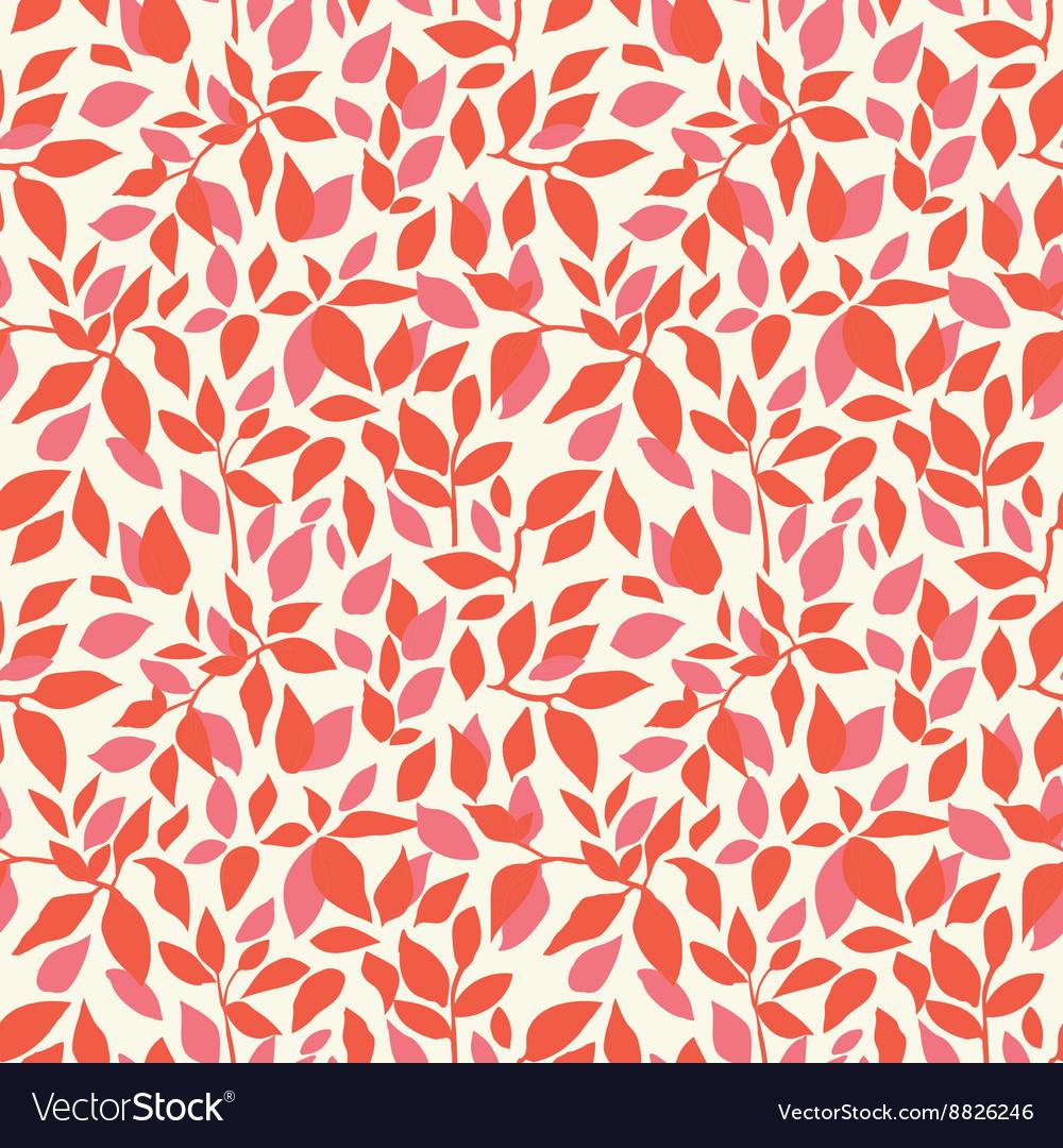 Color leaves pattern