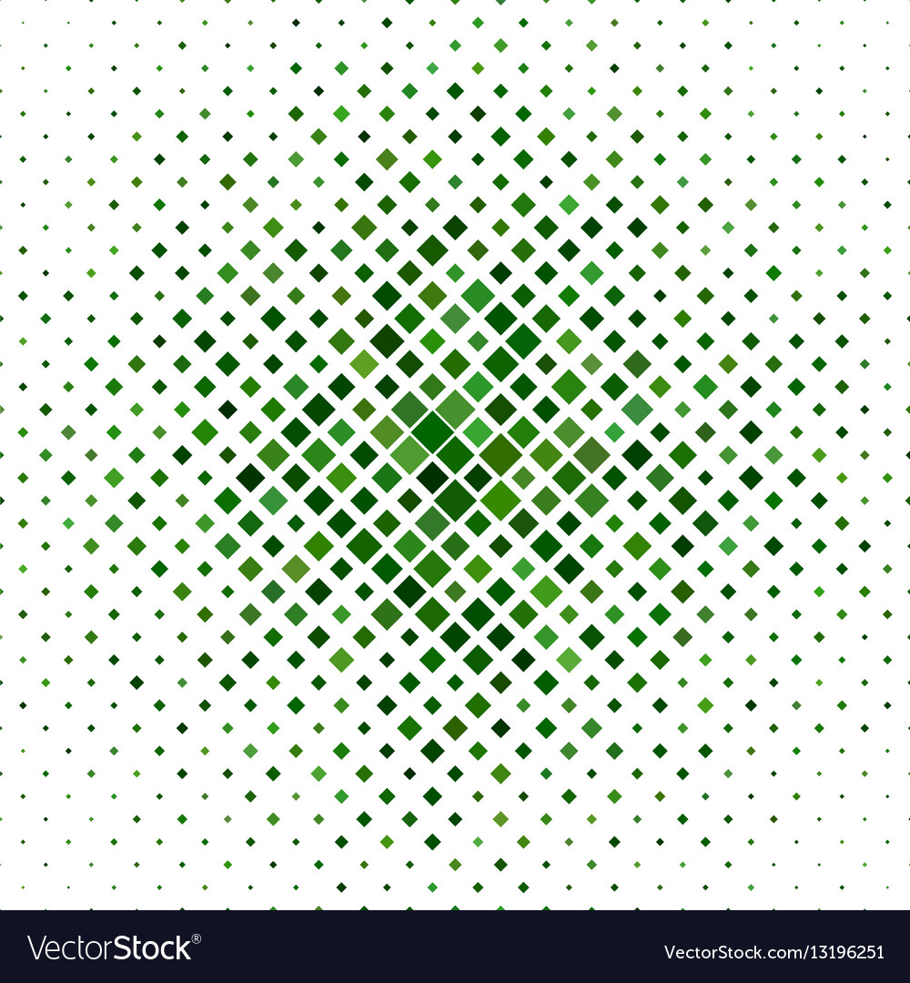 Green abstract square pattern background