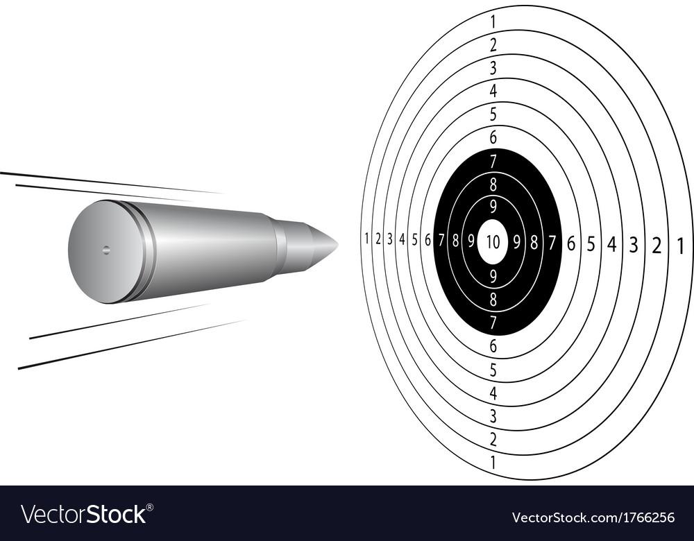 картинка пули летящей в цель легко находит