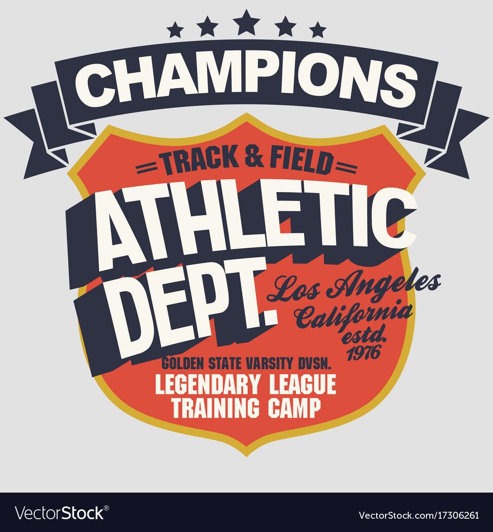 California t-shirt graphics sport wear typography