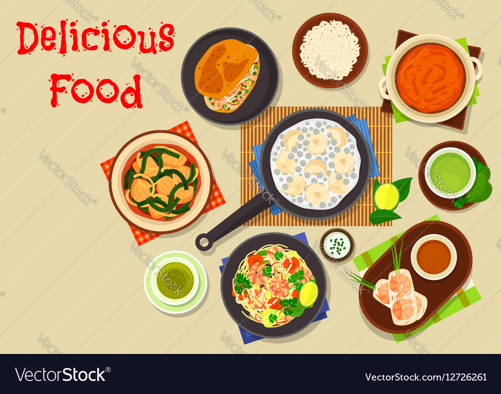 Vietnamese cuisine icon for asian food design vector image forumfinder Images