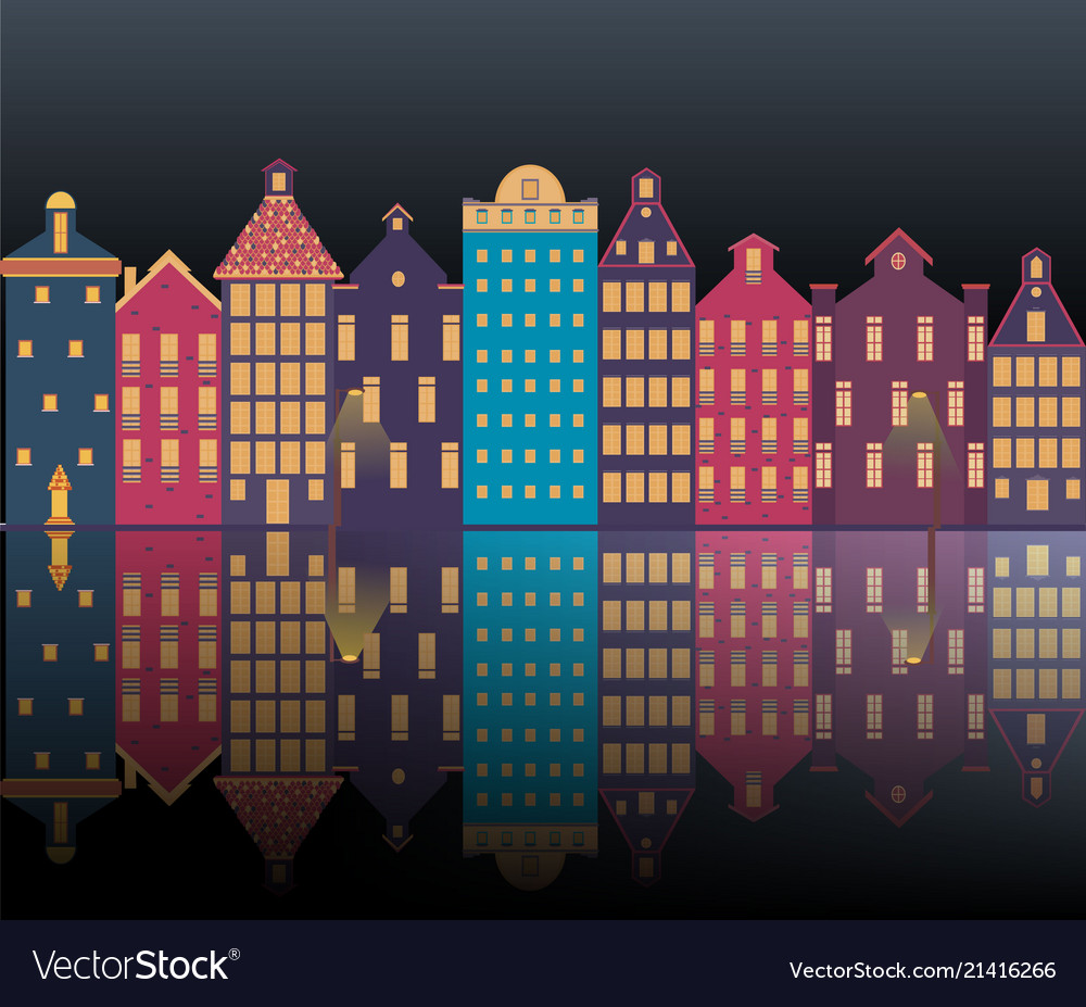 Amsterdam city night