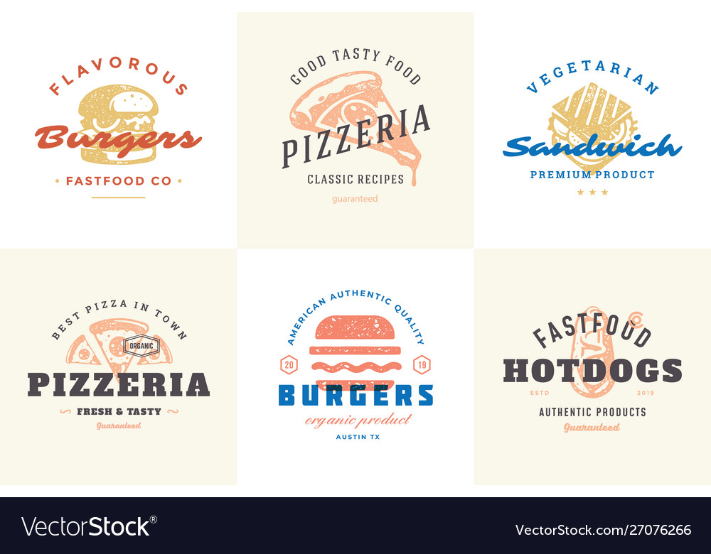 Engraving fast food logos and labels with modern
