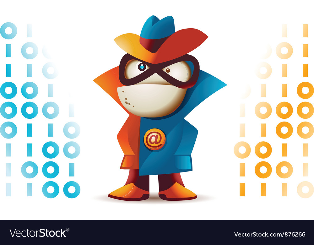 Spyware vector image
