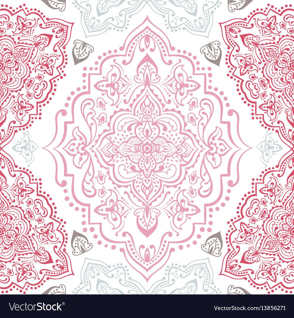 Hand drawn ethnic ornamental seamless