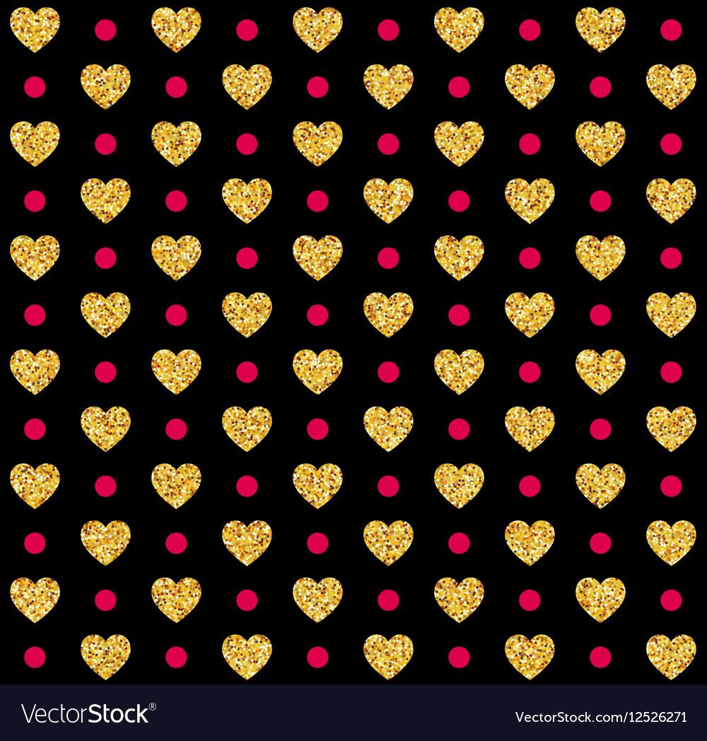 Valentines day seamless pattern background