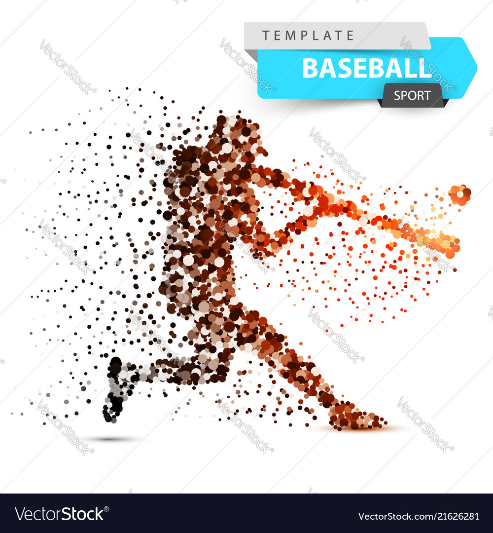 Baseball player - color dot