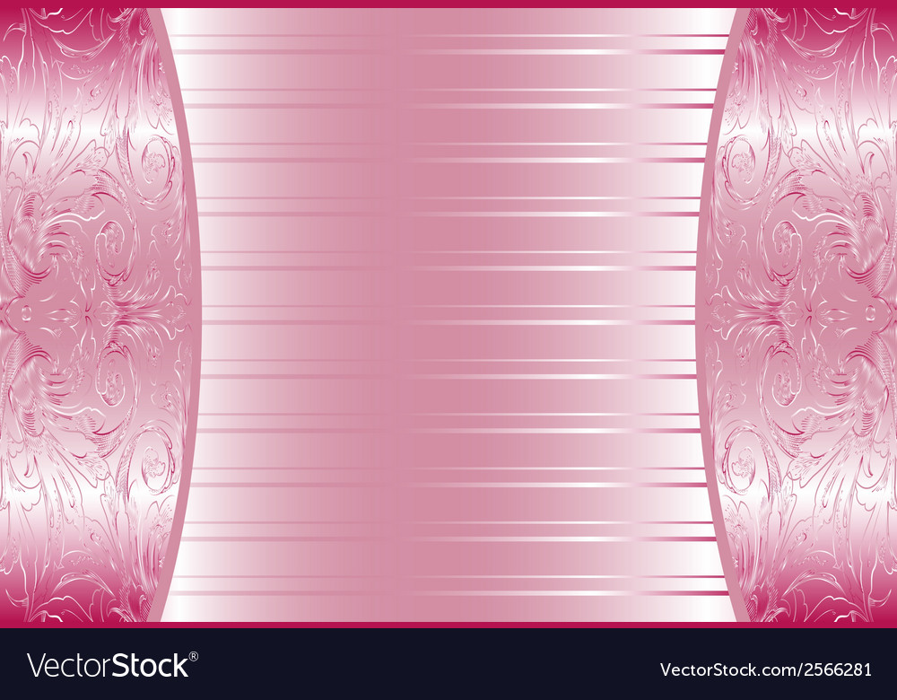 elegant pink abstract floral wallpaper seamless vector 2566281