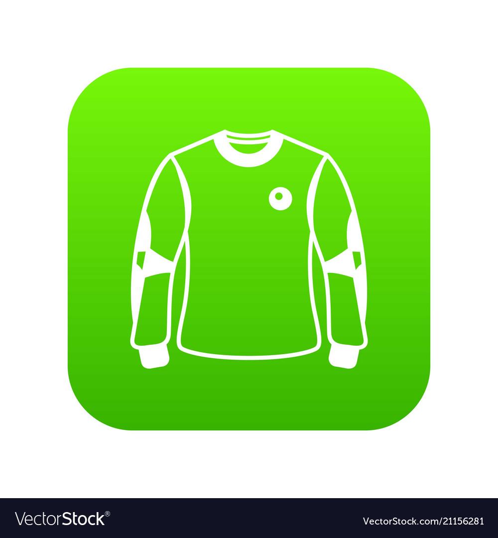 Shirt goalkeeper icon simple black style