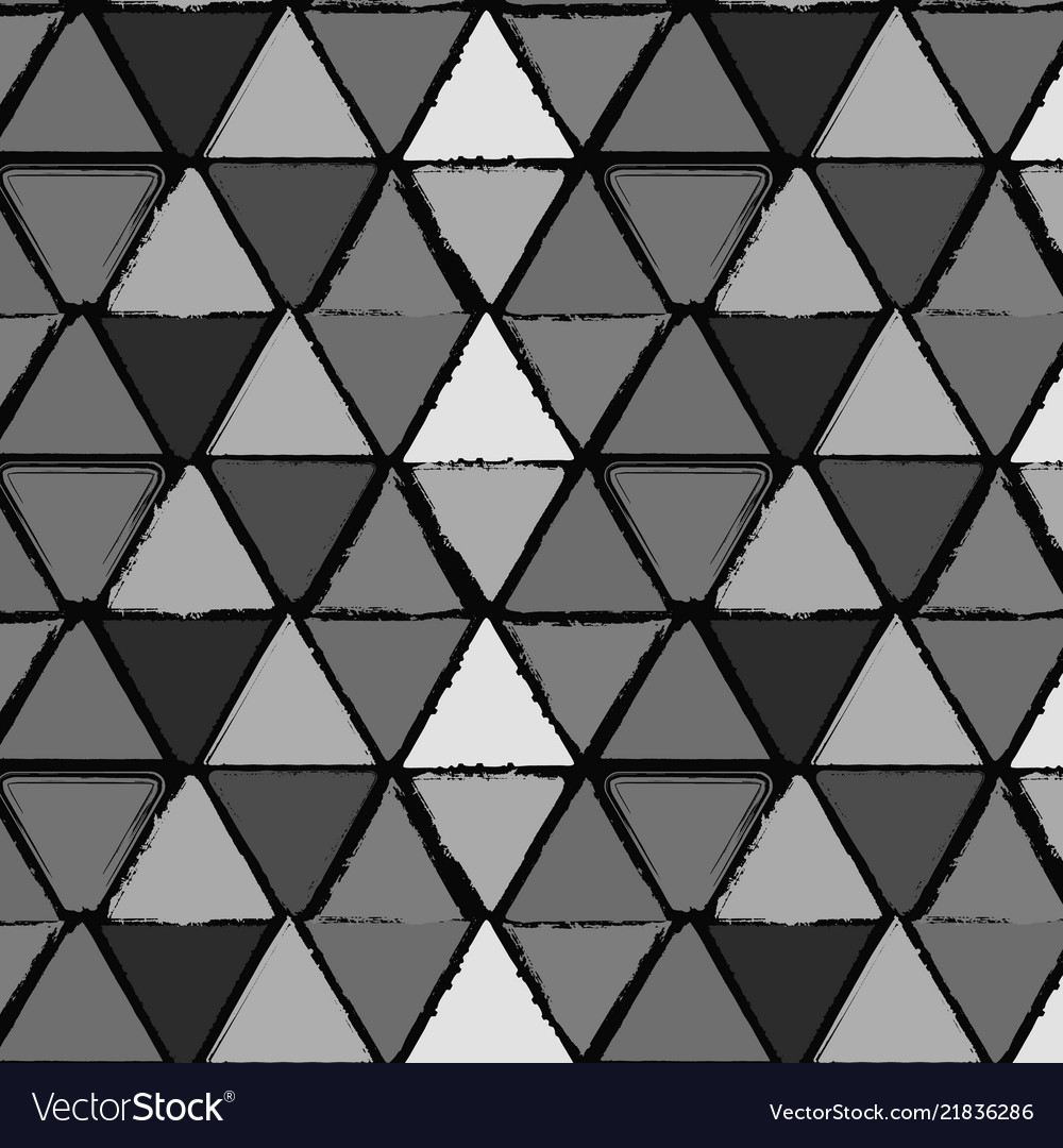 Grunge triangles seamless