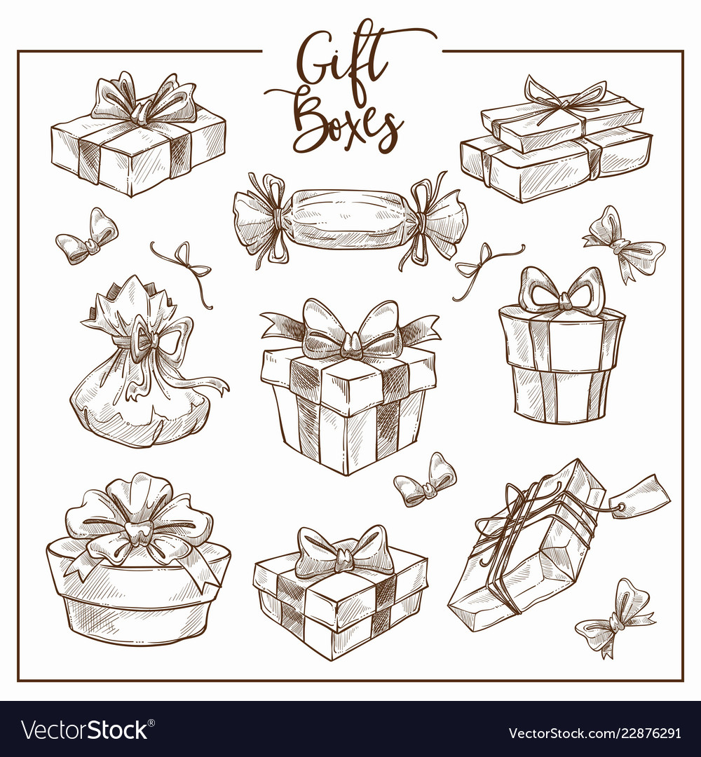 Christmas collection symbolic traditional gift