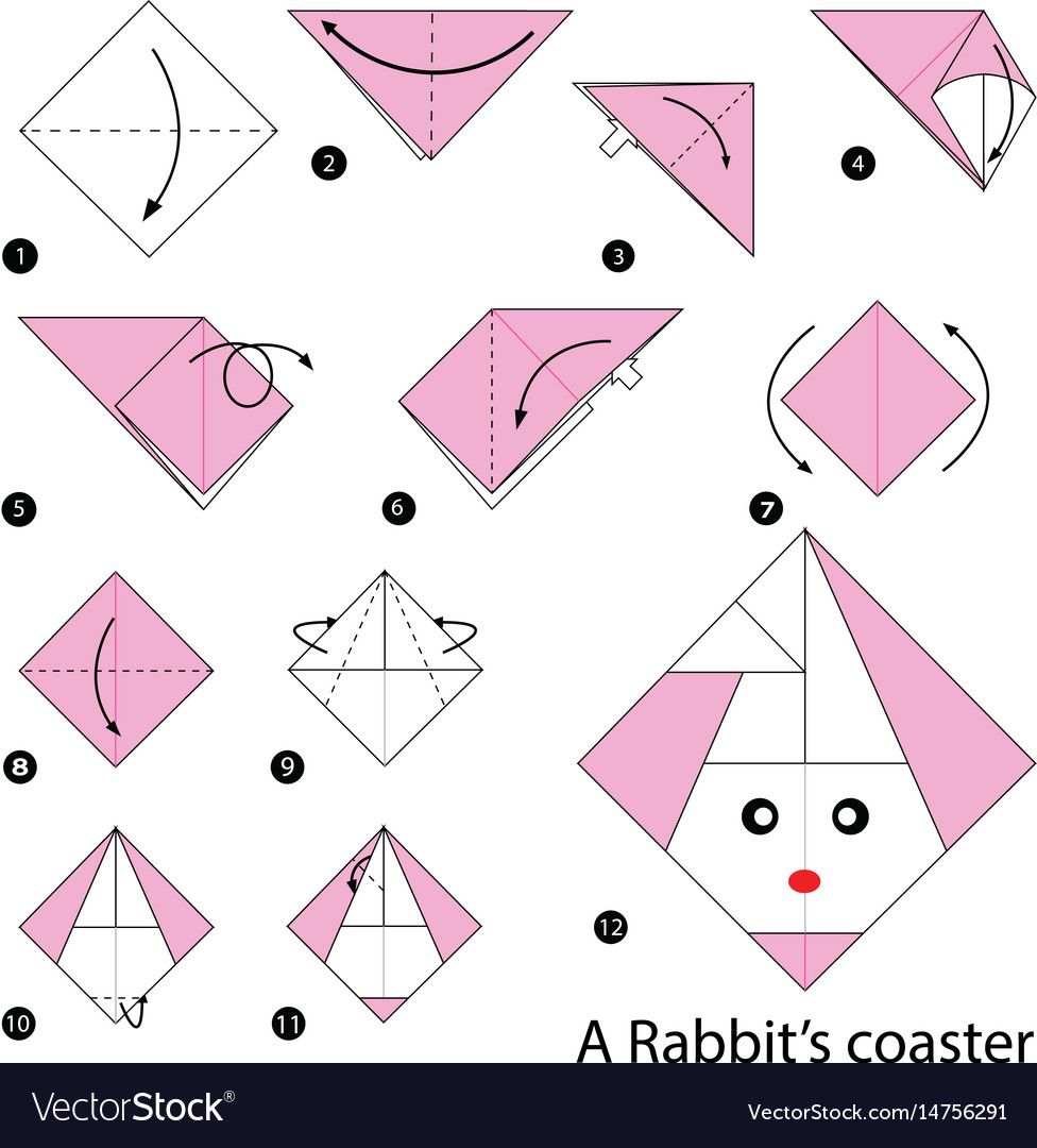 Easy Origami Rabbit - How to Make Rabbit Step by Step - YouTube | 1080x976