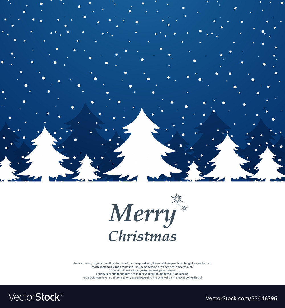 Abstract of simple christmas background with