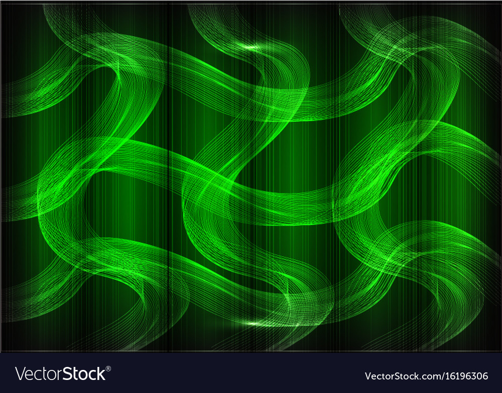 Many fine lines on a green background