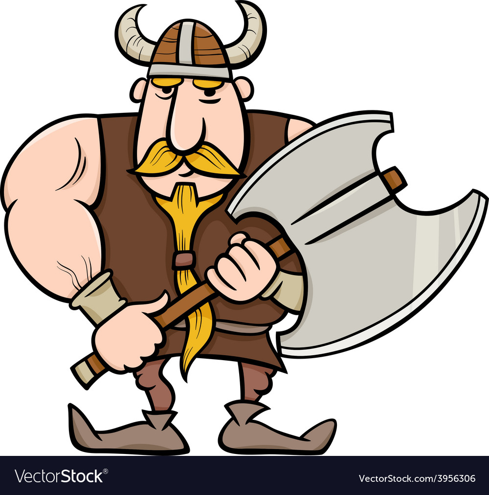 Viking cartoon